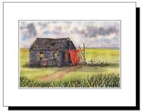 Long Beach Island NJ Barnegat Lighthouse Original Watercolor Print 11 x 14 LBI