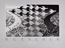MC Escher Tag und Nacht Poster Kunstdruck Bild 50x70cm