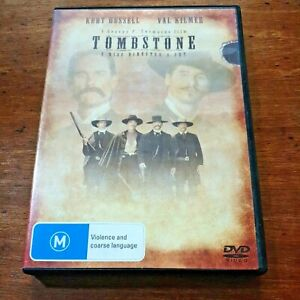 Tombstone 2 Disc Director's Cut DVD R4 Like New! FREE POST