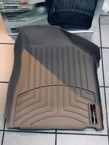 ALL WEATHER FLOORMATS- FRONT  Fits  NISSAN MURANO 2003-2007 -TAN