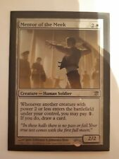 Mtg mentor of the meek foil x 1 great condition