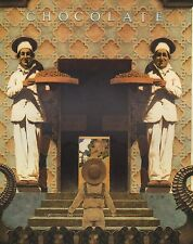 MAXFIELD PARRISH BOOK PRINT 2 CHOCOLATE CHEFS LITTLE BOY IN SAILOR SUIT & HAT