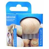Wooden Handled Mushroom Brush - Kitchen Craft Gently Boxed New