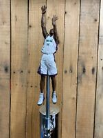 Milwaukee Bucks TAP HANDLE Ray Allen Beer Keg NBA Basketball White Jersey