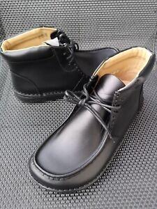 Birkenstock Pasadena High Leder-Schuhe Black Boots Stiefel/Stiefeletten Gr.41