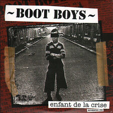 Boot Boys ‎- Enfant De La Crise - LP + CD - NEUF - oi skinhead punk paris BDS