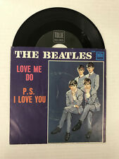 THE BEATLES-LOVE ME DO-PS I LOVE YOU-TOLLIE T 9008-VINYL 6.0,SLEEVE 4.0