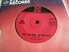 The Kinks,Till The End Of The Day/Where Have all The Good Times Gone (PYE,1965)