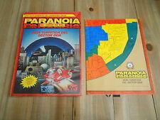 PARANOIA - Guía Turística del Sector DOA + Mapa DOA - juego de rol - JOC