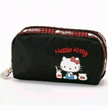 Hello Kitty x LeSportsac 45th Cosmetic Pouch RECTANGULAR COSMETIC USA Seller