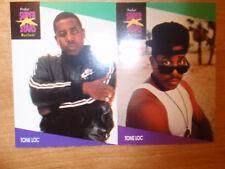 Tone Loc ProSet Super Stars MusiCards (1991) US 2 cards: #137, #138