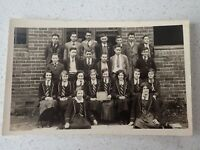 1934 Australian School Class  Photo Postcard    ( Lot P1)