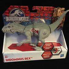 "Jurassic World Dinosaur 8"" Indominus Rex New Toy Jurassic Park Chomping Action"