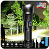 90000LM LED Tactical Flashlight Super Bright With USB Rechargeable Battery USA
