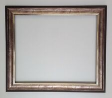 Scooped Silver/bronze  Frame Different Sizes Available