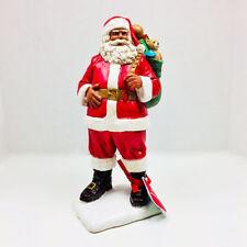 Hallmark 2018 Mahogany African American Black Christmas Santa Claus Figurine