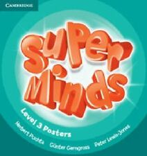 Super Minds Level 3 Posters (10) by Herbert Puchta and Günter Gerngross...