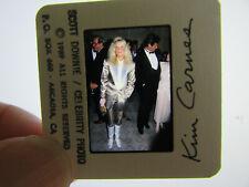 Original Press Photo Slide Negative - Kim Carnes - 1989 - F