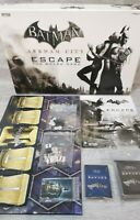 Batman Arkham City Escape Board Game 100% Complete Cryptozoic 2013