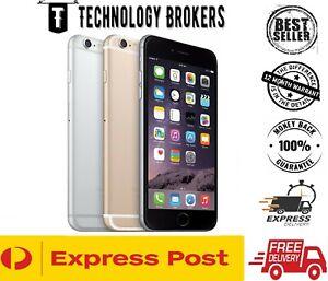 Apple iPhone 6 16GB 64GB 128GB 4G GREY GOLD SILVER 100% UNLOCKED Refurb AU Stock