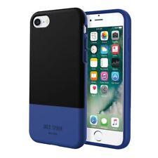 Jack Spade New York fuerte funda rígida ultra delgado de iPhone 8 7 6s 6 Azul/Negro