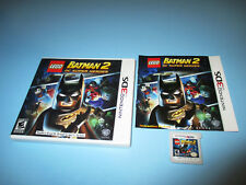 LEGO Batman 2: DC Super Heroes (Nintendo 3DS) XL Game w/Case & Manual