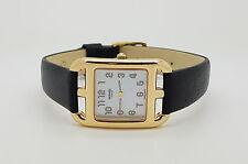 Authentic Mint 18K Gold Hermes Cape Cod CC1.285 Ladies Watch MOP Dial