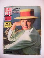 Ciné Revue N°41 Octobre 1956 Françoise Arnoul Raf Vallone