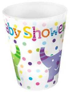 Baby Shower Elephants Paper Party Cups x 8