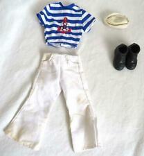 Vintage Billy Gay Doll Sailor Outfit Anchor Shirt, Pants, Boots, Hat NO DOLL