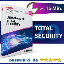 Bitdefender Total Security Multi Device 2020 - 5 Geräte & PC | 1 Jahr + VPN