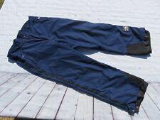 Vintage 90's NORTH FACE Blue FULL Side Zip Goretex Snowboard Ski Pants Large