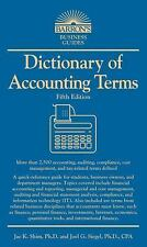 NEW - Dictionary of Accounting Terms (Barron's Business Dictionaries)
