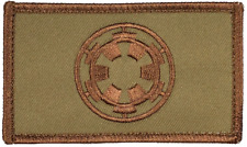 """Star Wars Imperial Tactical Hook and Loop Embroidered Desert Tan 2"""" X 3.5"""""""