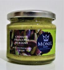 Crema di Pistacchio di Sicilia al 36% MONIL Basic - 190 gr