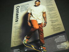 LECRAE funky balancing skateboard 2014 PROMO POSTER AD mint condition