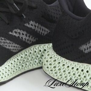 RARE Adidas Made in Germany 4D B75942 Black Ash Green Futurecraft Sneakers 11