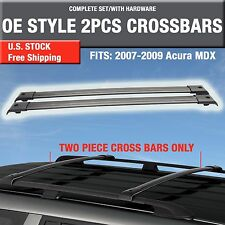 2007-2009 Acura MDX Roof Rack Cross Bar Crossbar OE Style - 2PCS Complete Kit