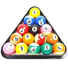 "Plastic 8 Ball Pool Billiard Table Rack Triangle Rack for Standard 1/4"" Size"