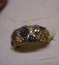 Diamond Ring Size 7  49 diamonds .50tcw MSRP$924