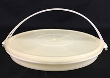 Vintage TUPPERWARE PARTY SUSAN 405-1, LID 224-2 & HANDLE 406-6 Millionaire Line