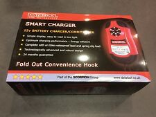 DATATOOL SMART CHARGER MOTORCYCLE MOTORBIKE BATTERY CHARGER 12v
