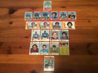 Lot of 20 Trading Cards - 1970 - 1973, 1977 Topps FOOTBALL Buffalo Bills (AFC)