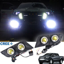 Twin Fog Lamp LED Spot Light Set Fit Ford Ranger T6 Facelift Px2 Mk2 2015-2017