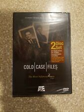 A&E COLD CASE FILES: The Most Infamous Cases 2 DVD Set  NEWFREE SHIP