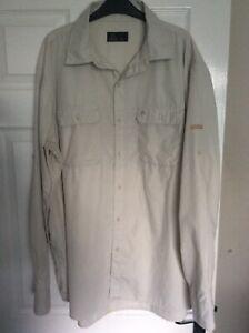 Craghoppers SOLAR DRY Sun Protective Safari Style Shirt Size XXL