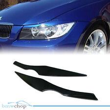 Ready To Ship BMW E90 4D 4Dr Sedan Eyelids Eyebrow Headlight Cover 06-11