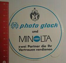 Aufkleber/Sticker: Photo glock und Minolta zwei Partner die ihr (20071672)