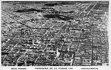B86410 panorama de la ciudad lima  peru