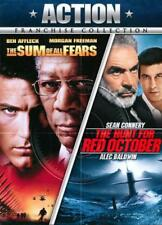 THE HUNT FOR RED OCTOBER/SUM OF ALL FEARS NEW DVD